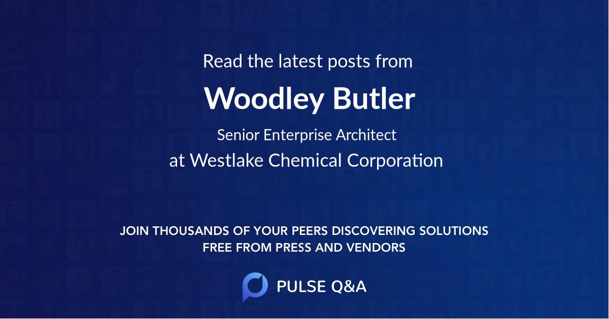 Woodley Butler