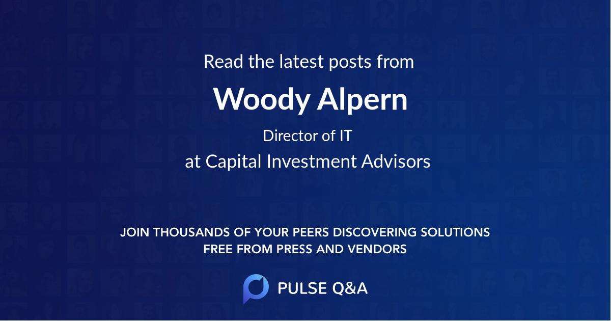 Woody Alpern