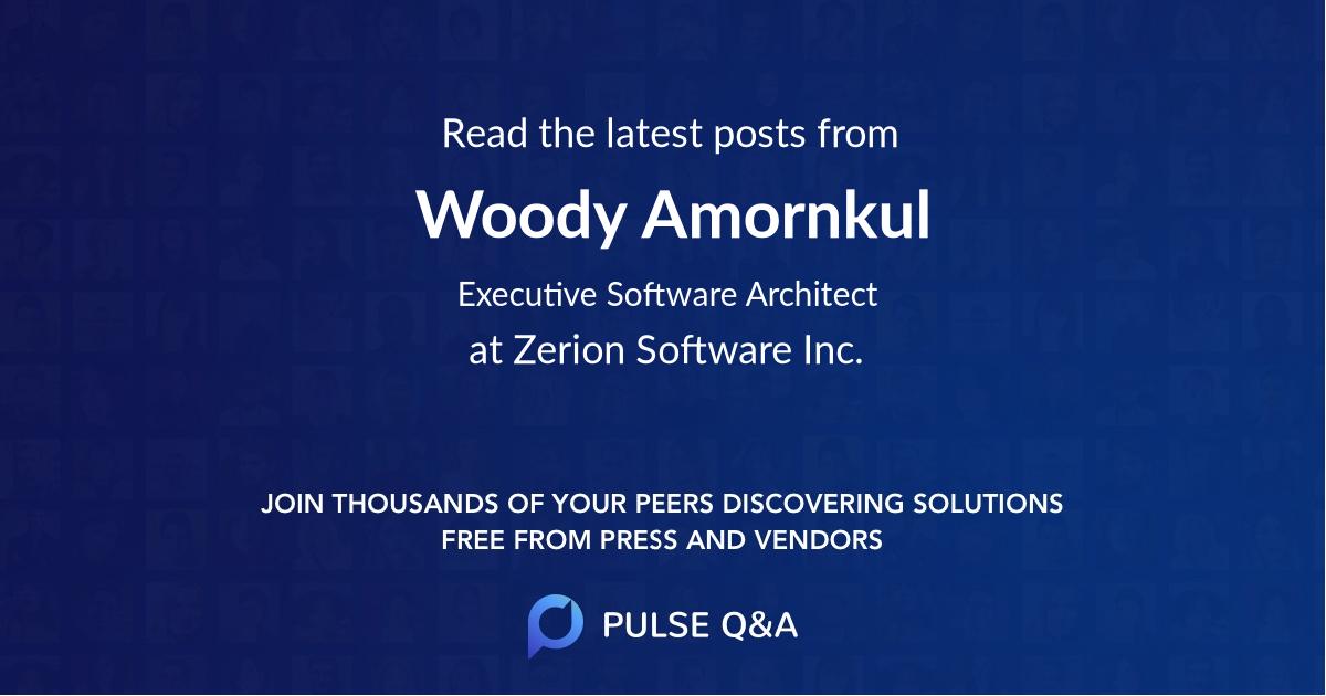 Woody Amornkul