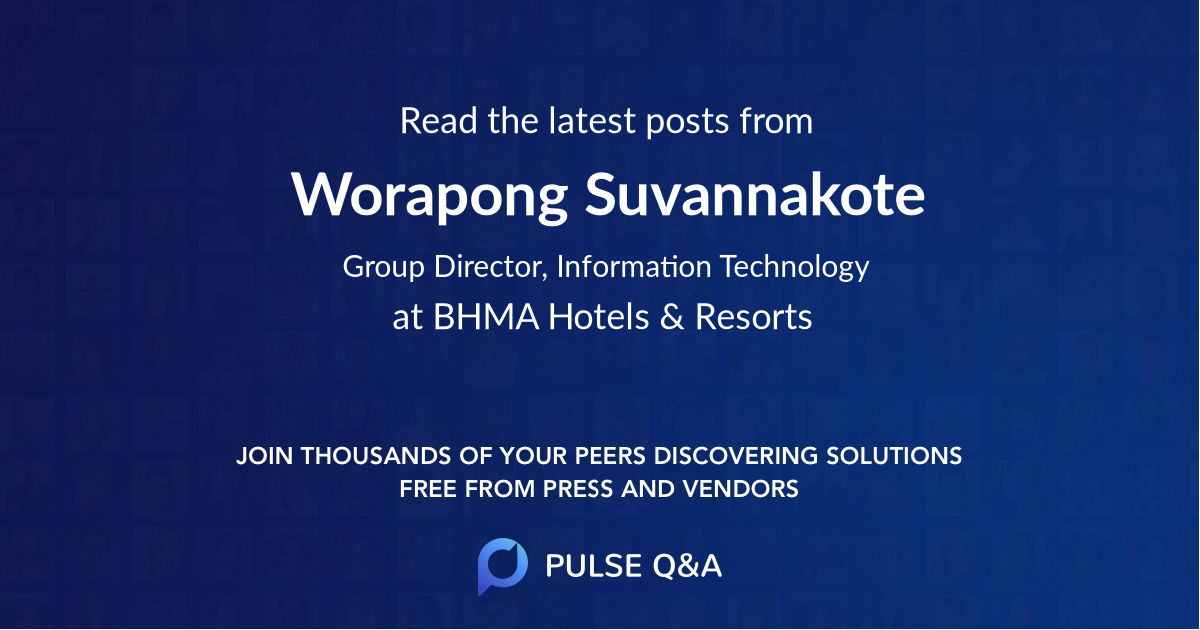 Worapong Suvannakote