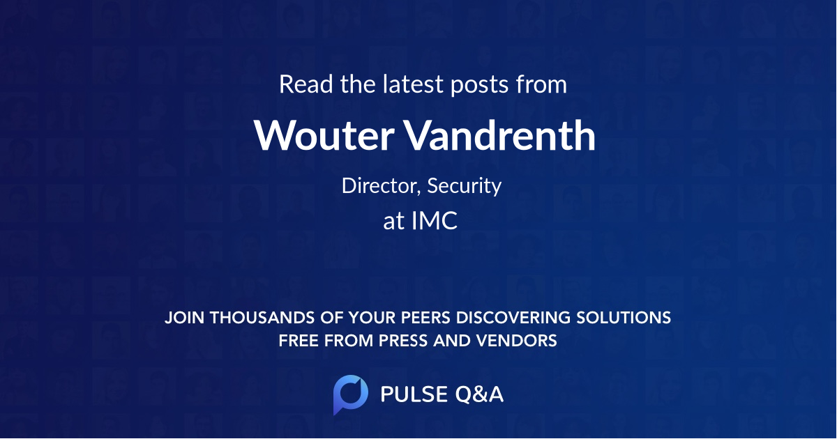 Wouter Vandrenth