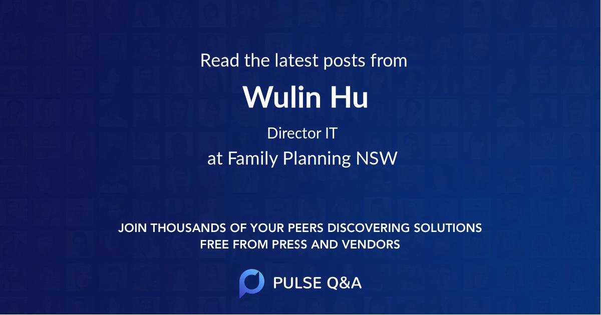 Wulin Hu