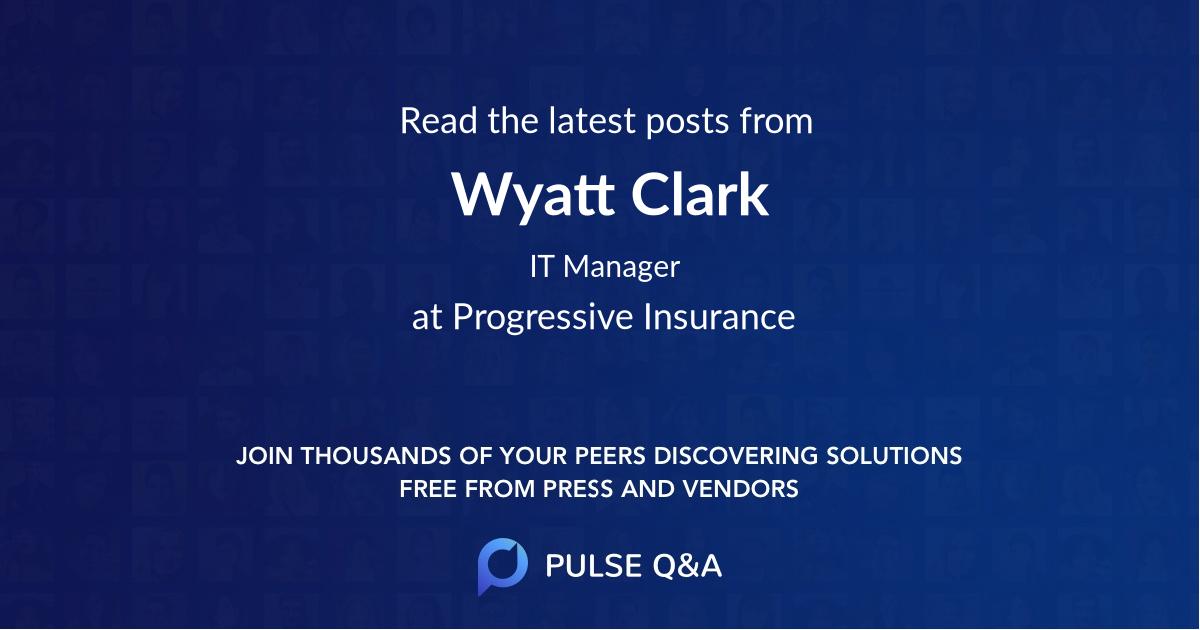 Wyatt Clark