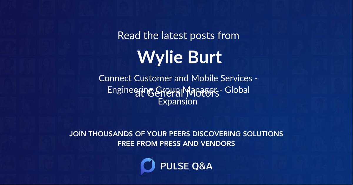 Wylie Burt
