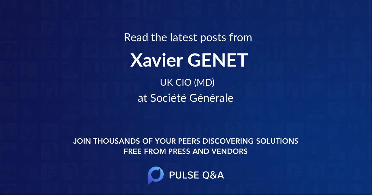 Xavier GENET