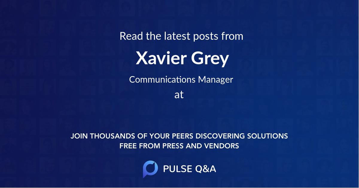 Xavier Grey