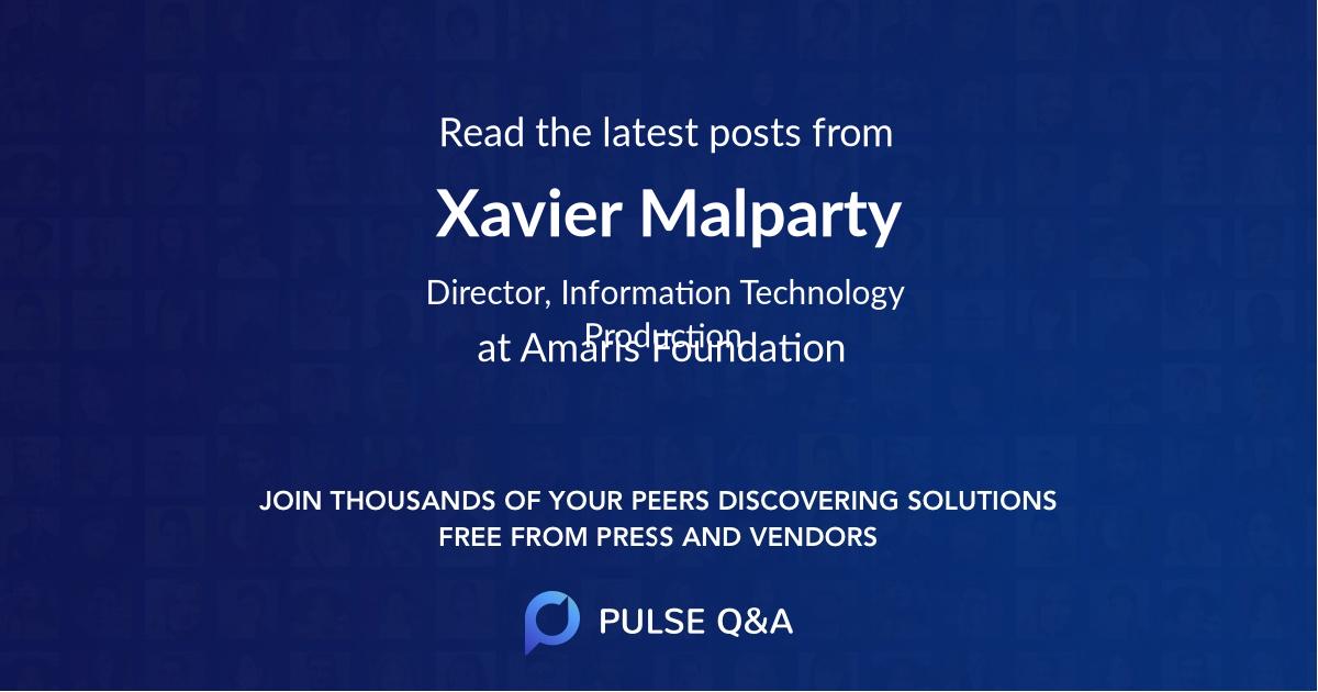 Xavier Malparty