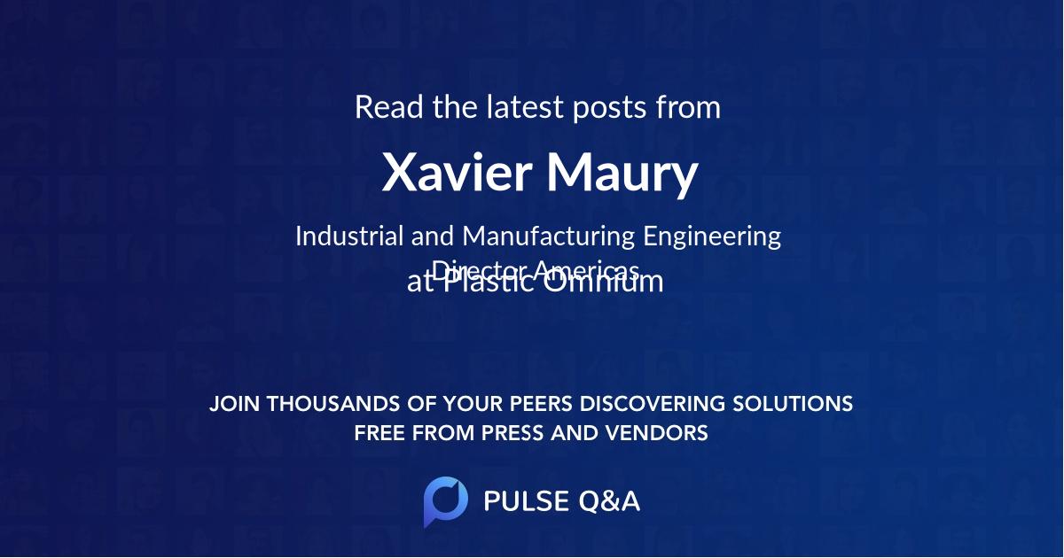 Xavier Maury