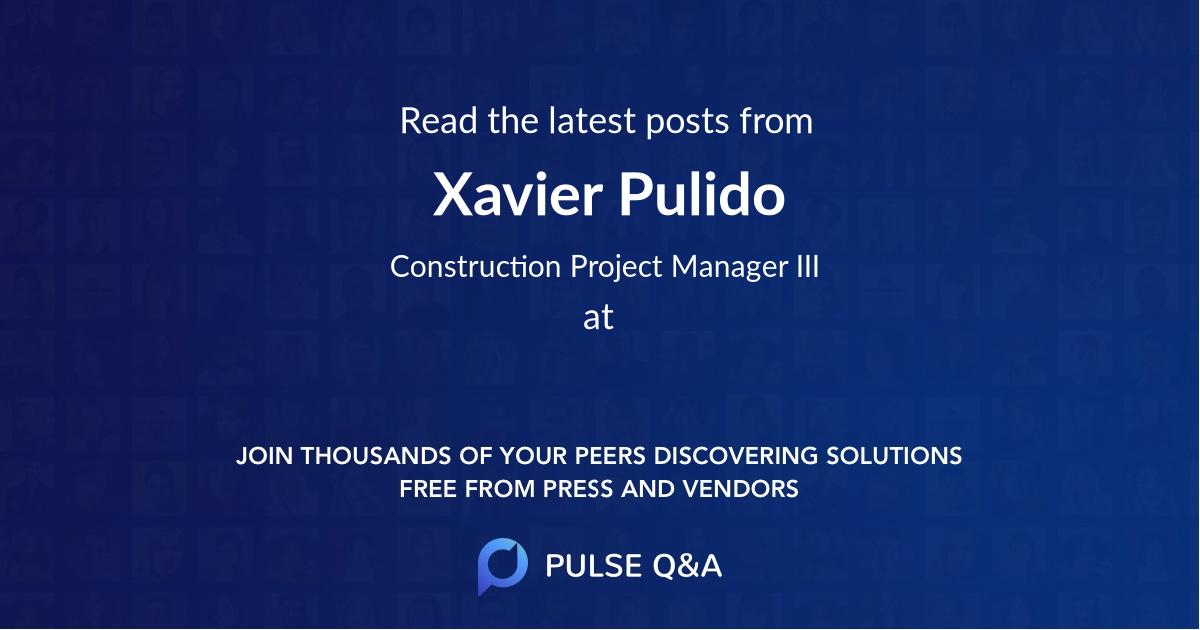 Xavier Pulido