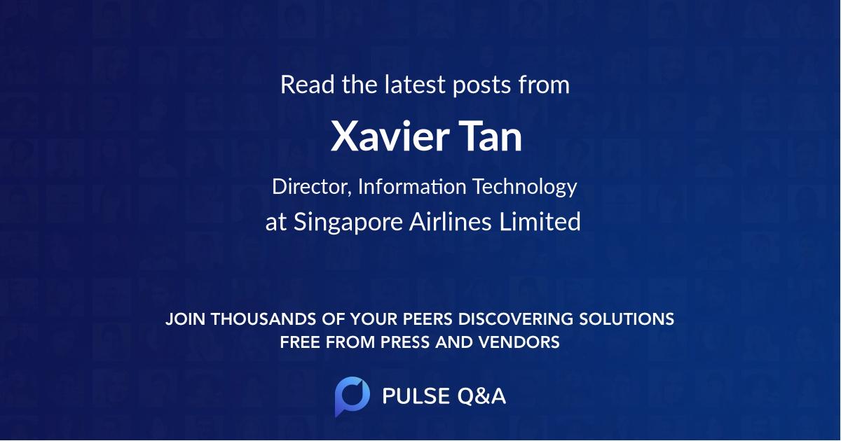 Xavier Tan
