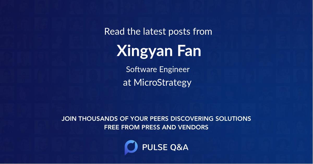 Xingyan Fan