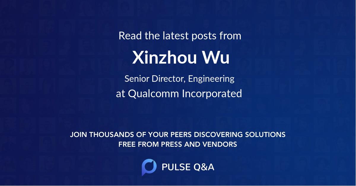 Xinzhou Wu