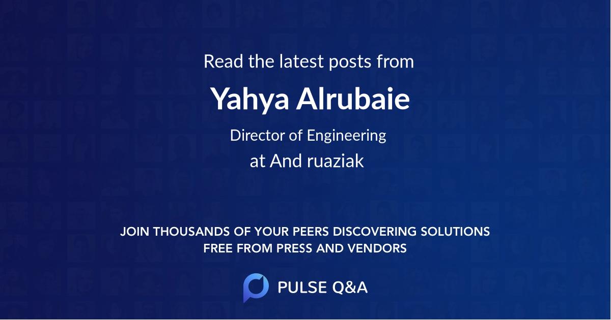 Yahya Alrubaie