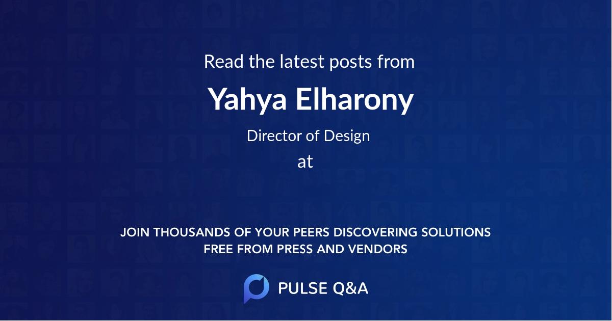 Yahya Elharony