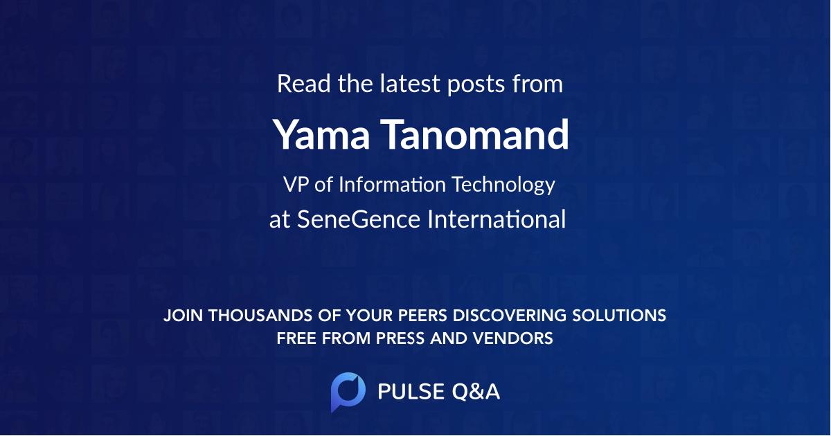 Yama Tanomand