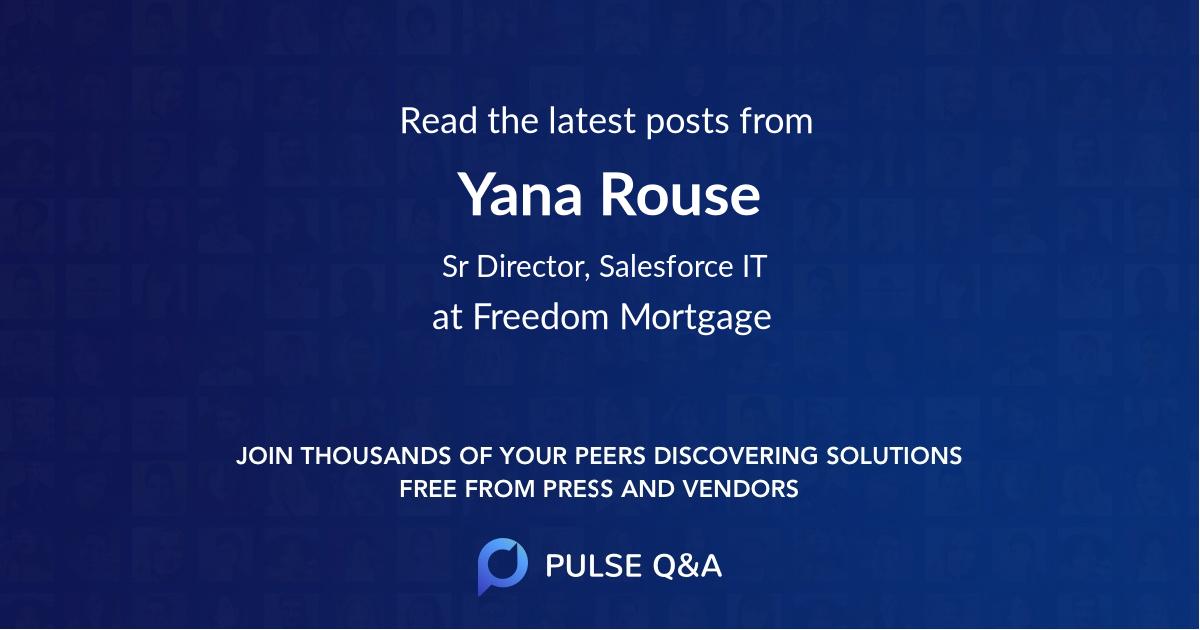 Yana Rouse