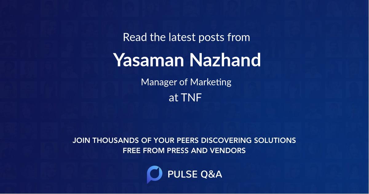 Yasaman Nazhand