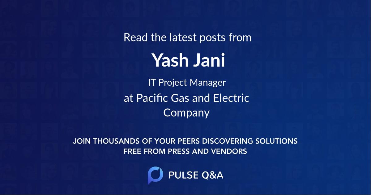 Yash Jani