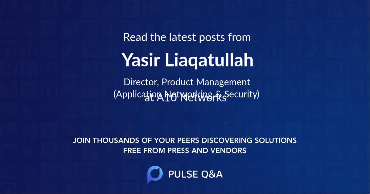 Yasir Liaqatullah