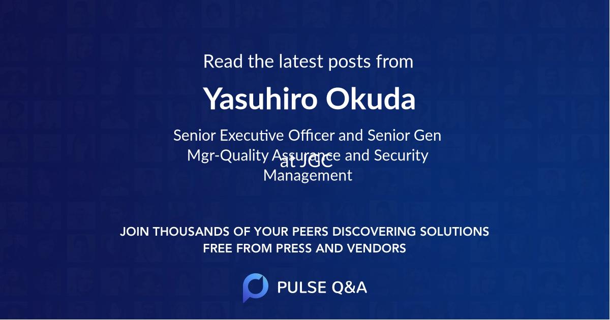 Yasuhiro Okuda