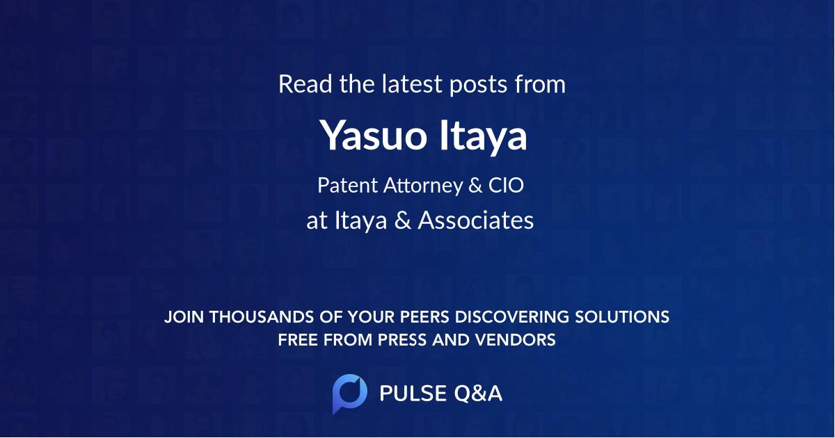 Yasuo Itaya