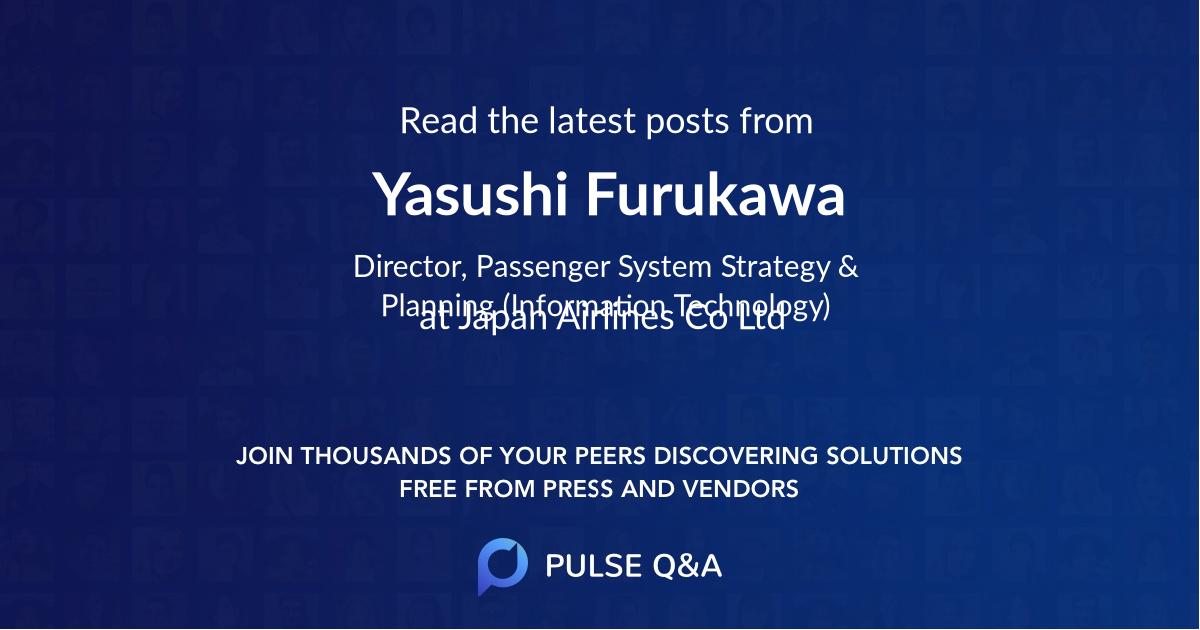 Yasushi Furukawa