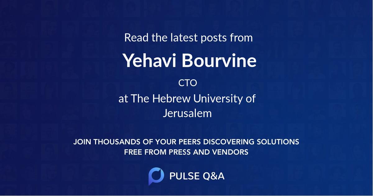 Yehavi Bourvine