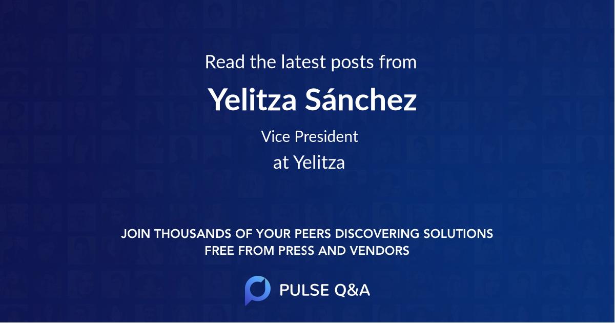 Yelitza Sánchez