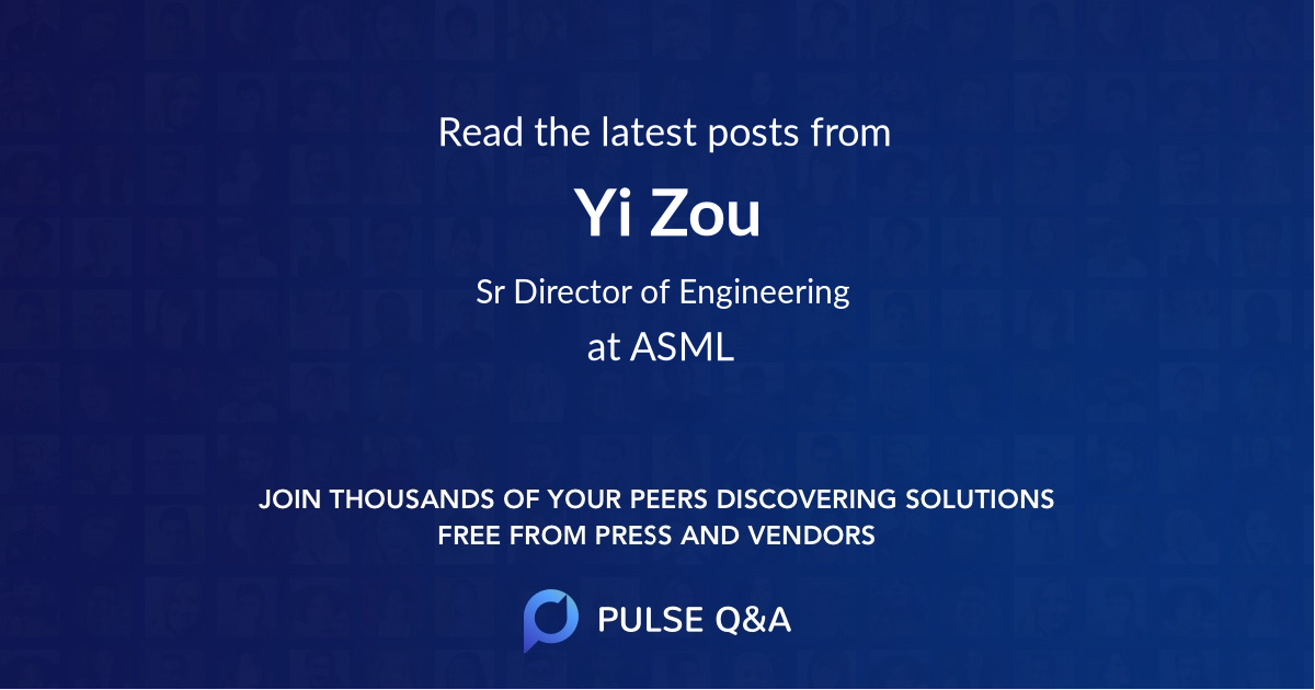 Yi Zou