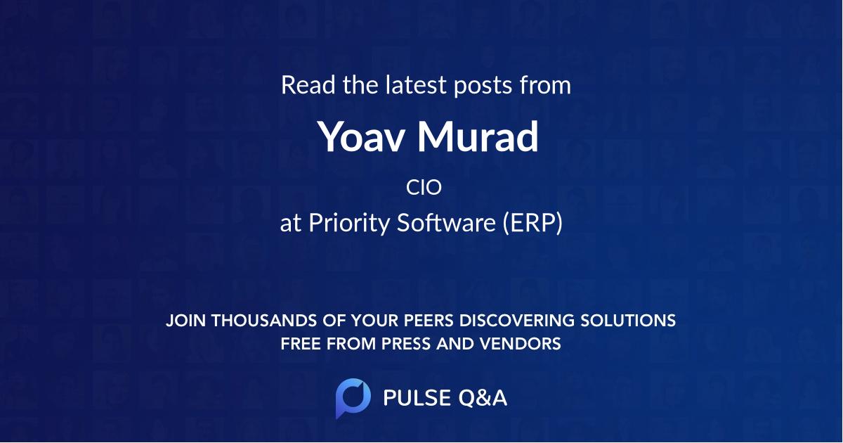 Yoav Murad