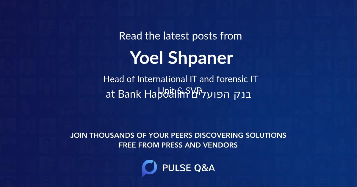 Yoel Shpaner
