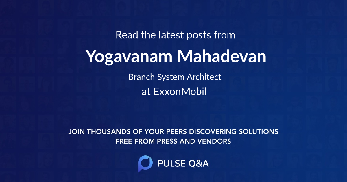 Yogavanam Mahadevan