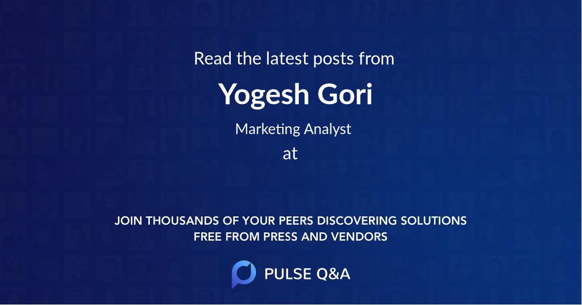 Yogesh Gori