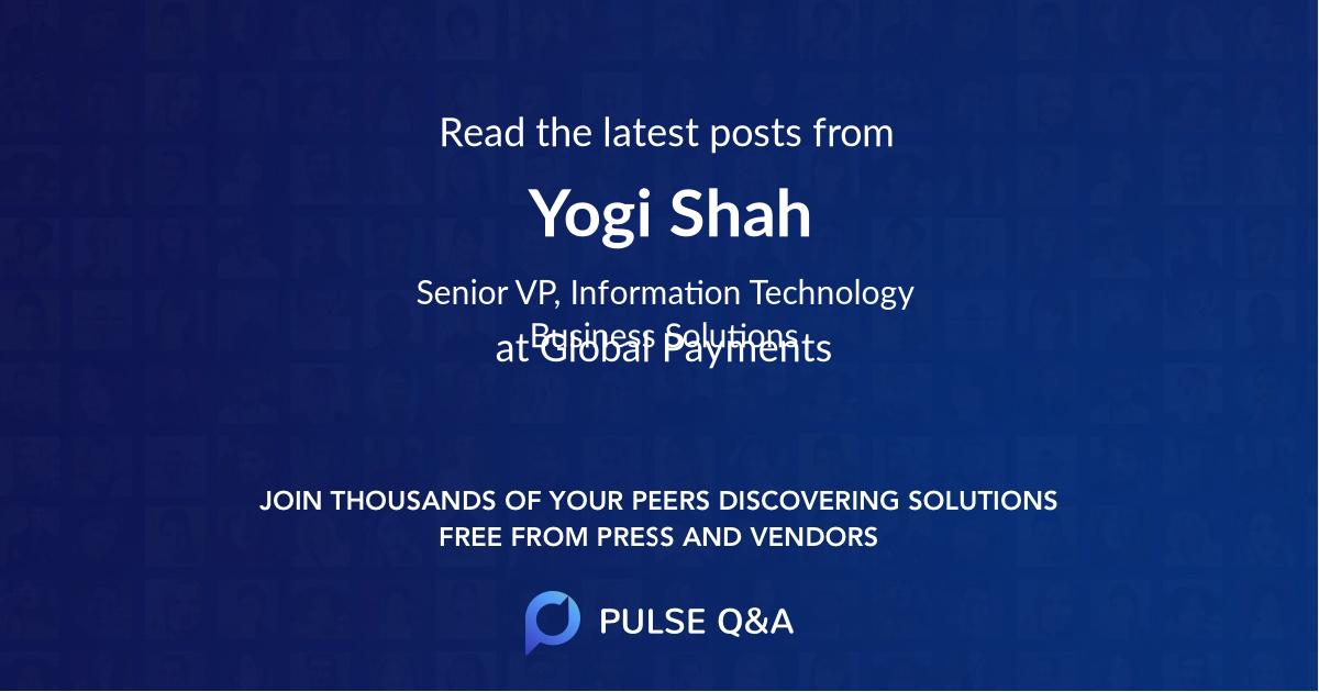 Yogi Shah