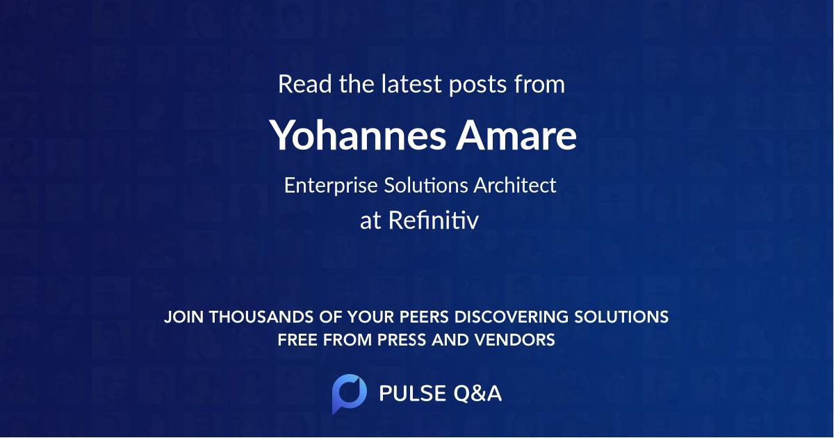 Yohannes Amare