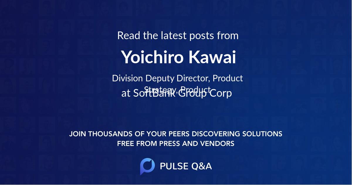 Yoichiro Kawai