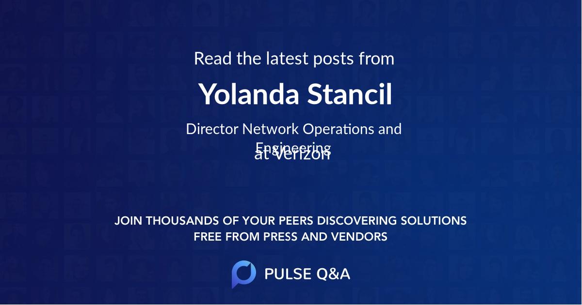Yolanda Stancil