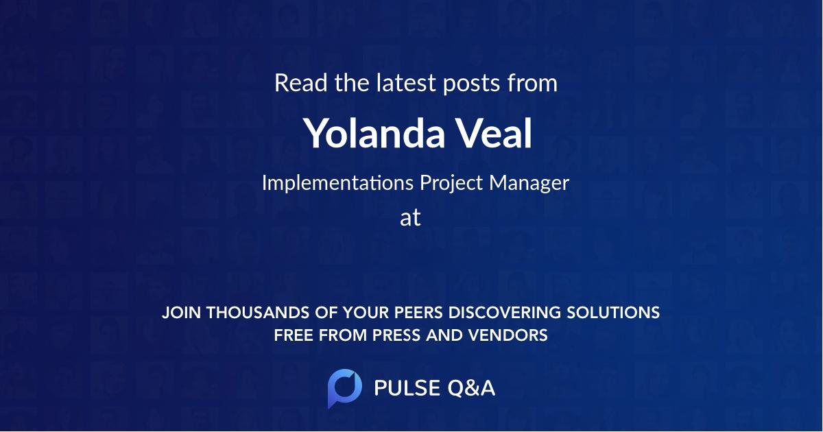 Yolanda Veal