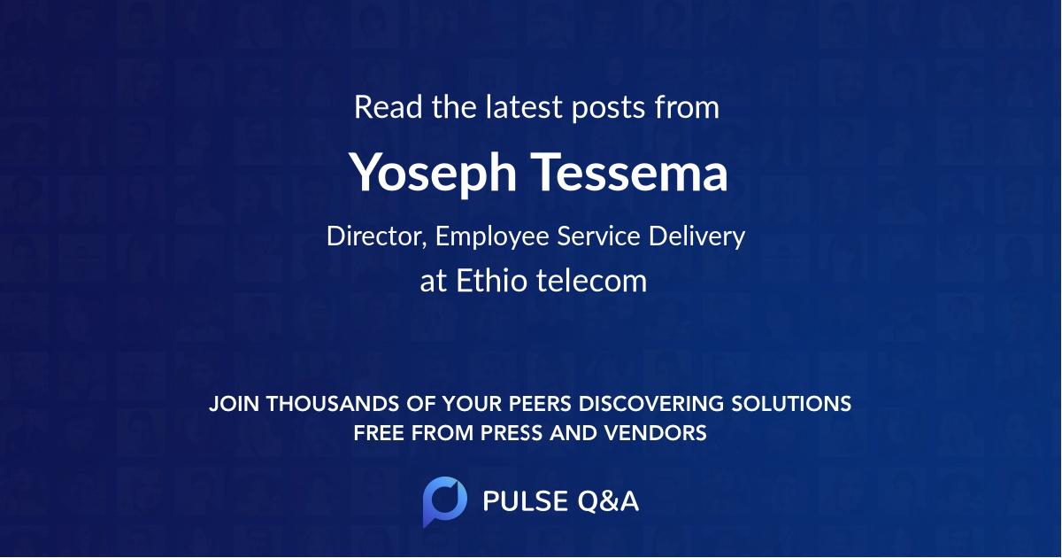 Yoseph Tessema