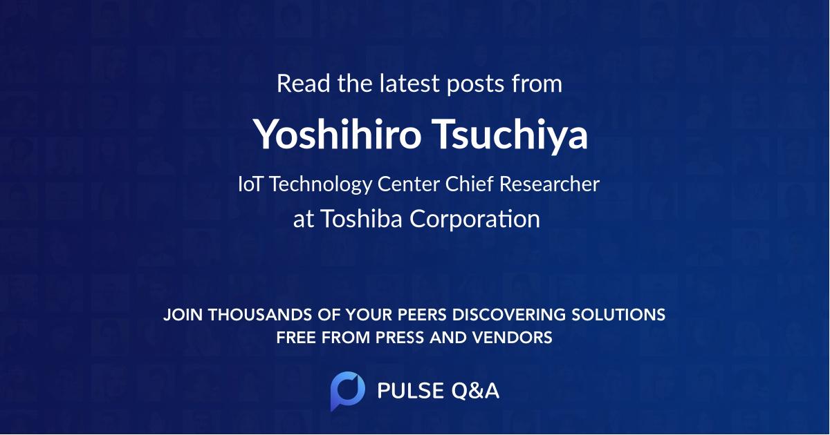Yoshihiro Tsuchiya