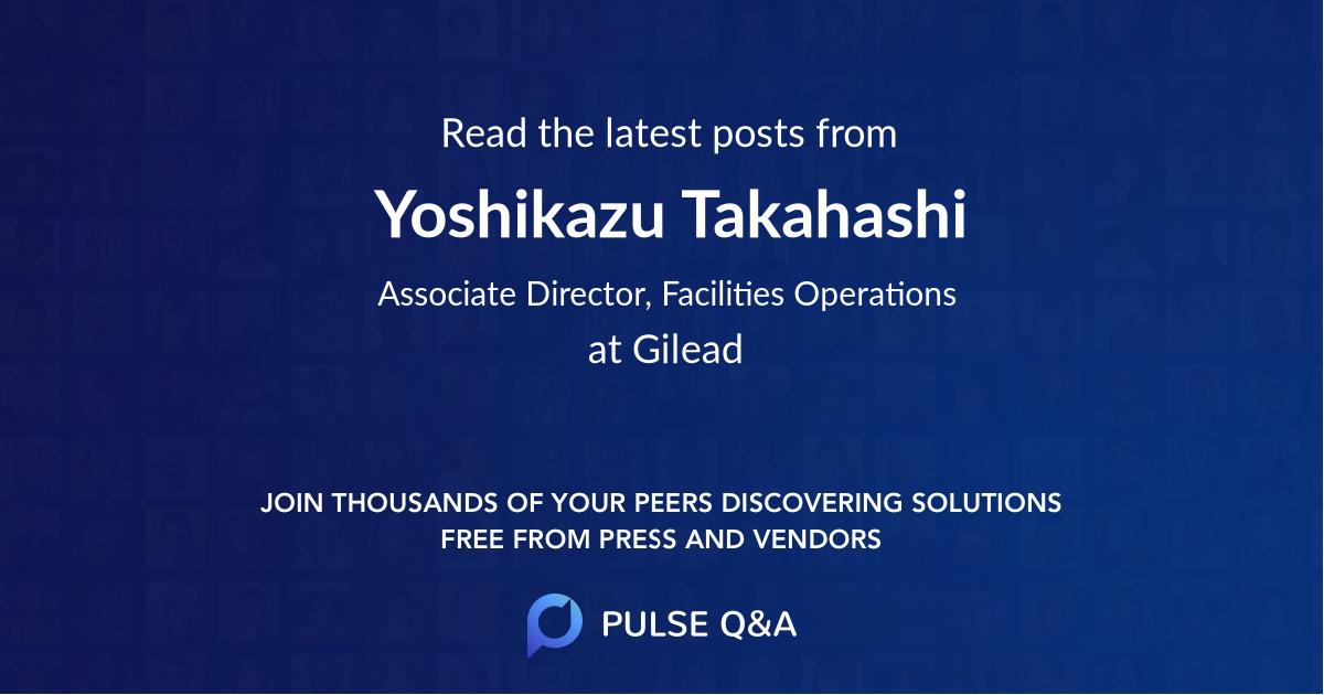 Yoshikazu Takahashi