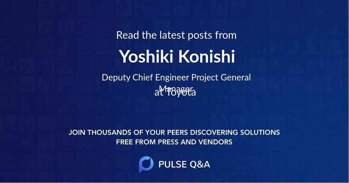 Yoshiki Konishi