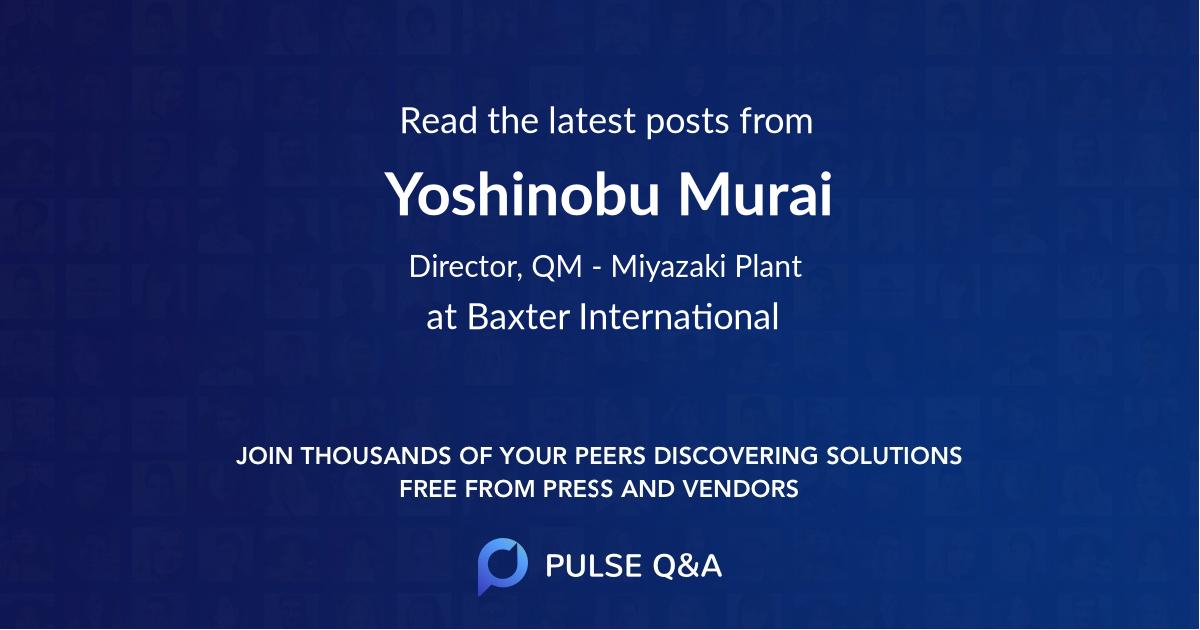 Yoshinobu Murai