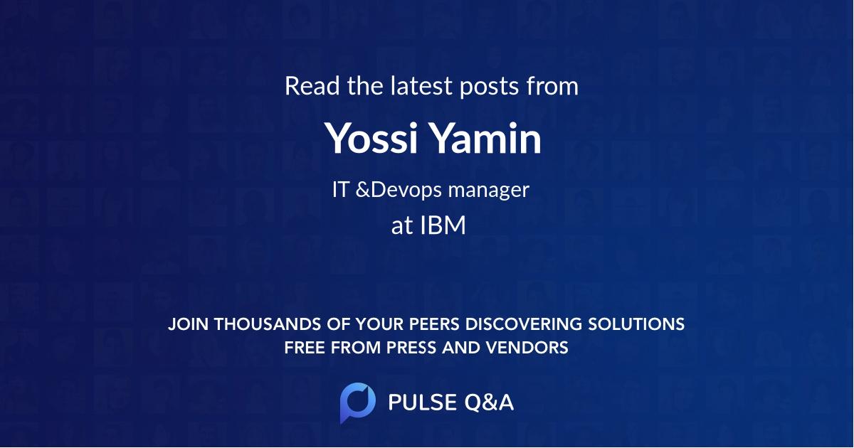 Yossi Yamin