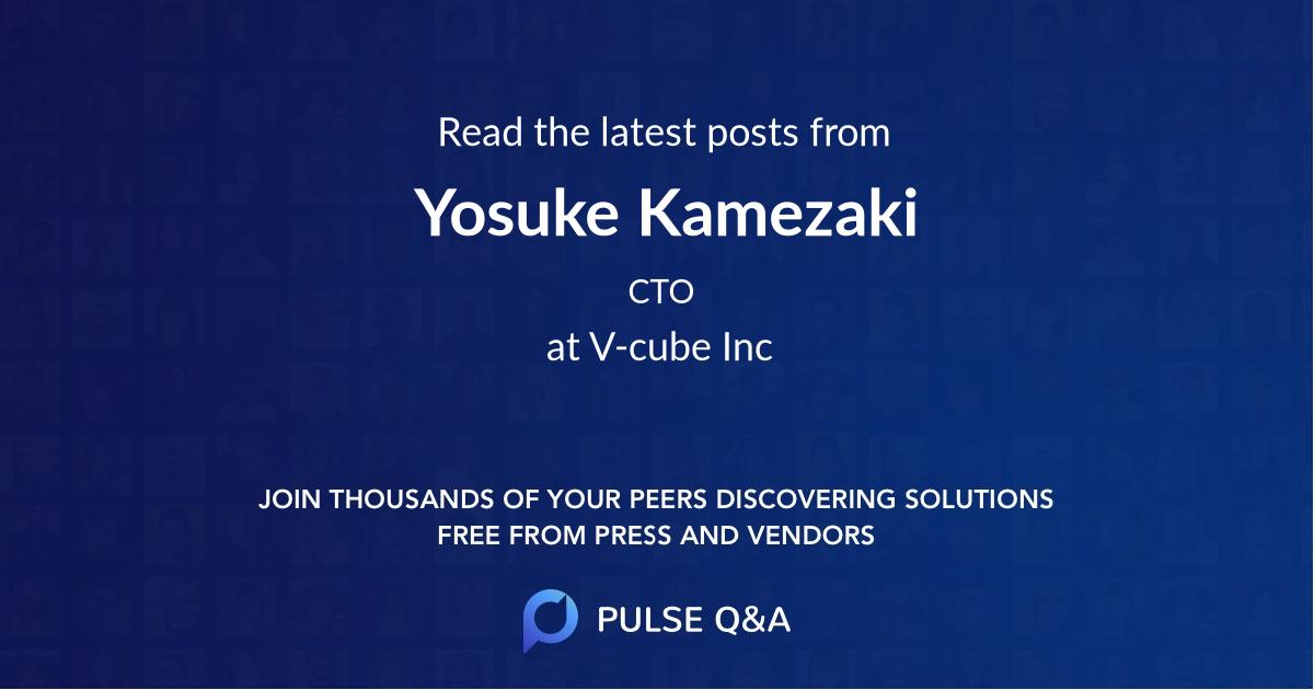 Yosuke Kamezaki