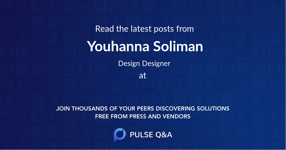 Youhanna Soliman