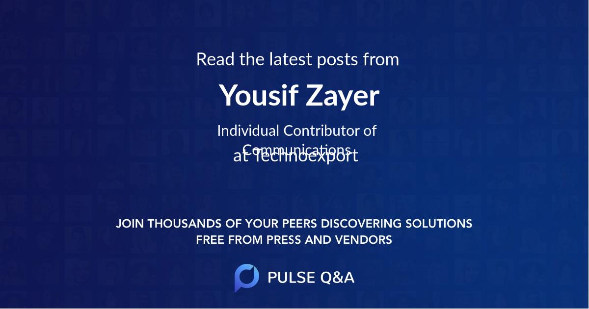 Yousif Zayer