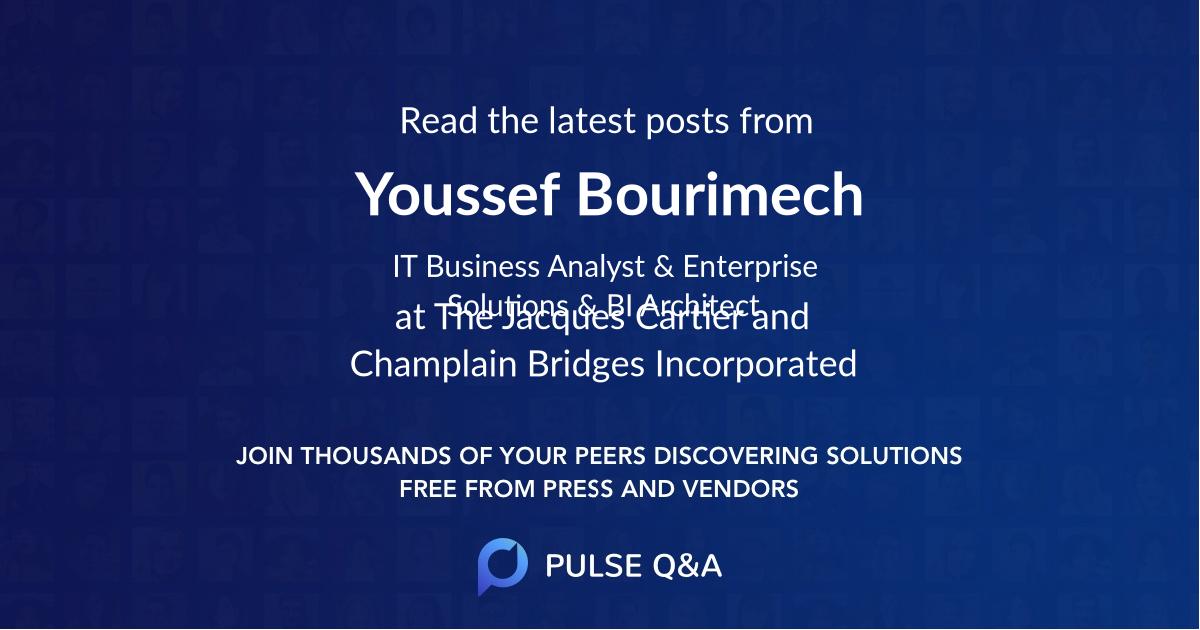Youssef Bourimech