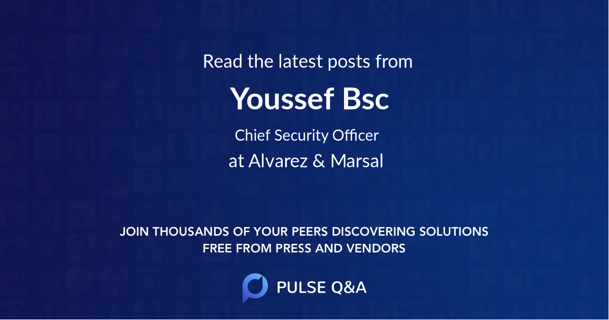 Youssef Bsc