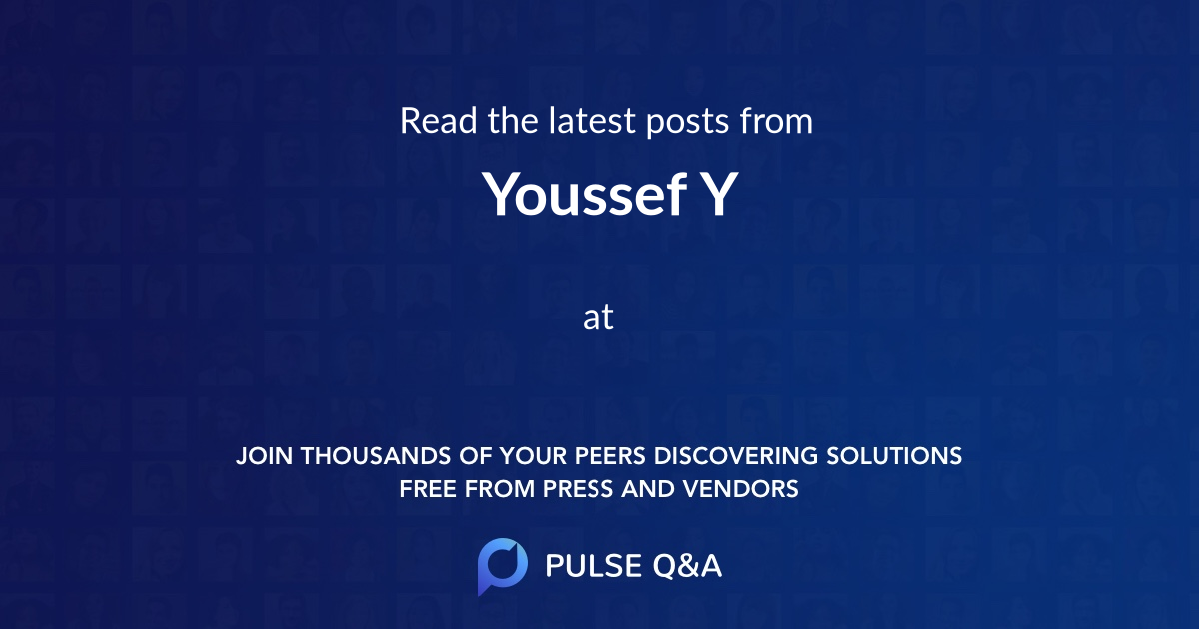 Youssef Y